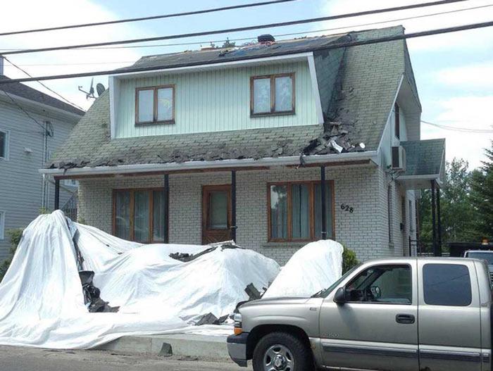 avant-après toiture
